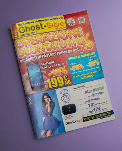 Volantino Ghost Store